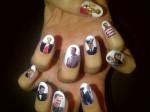 Katy Perry's Celebratory Nails