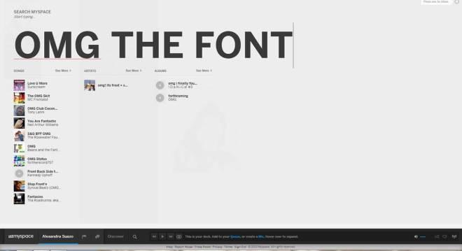 myspace_font