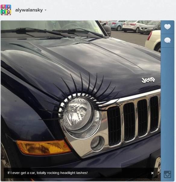 HeadlightLashes