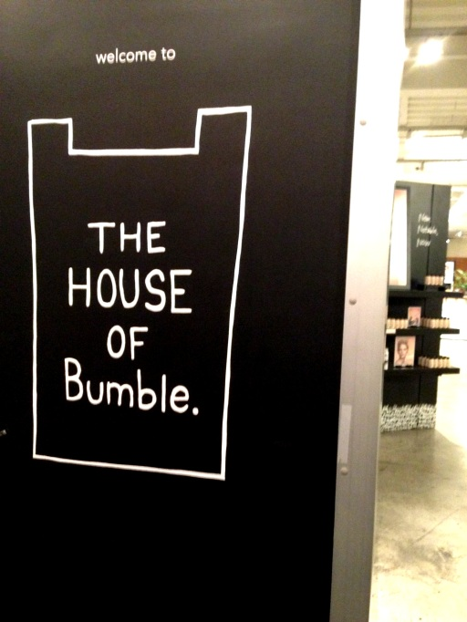 The House of Bumble Entrance